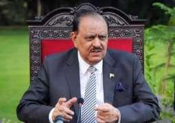 الرئيس الباكستاني: برنامج بينظير لدعم الدخل يلعب دورا هاما لمحاربة الفقر في البلاد