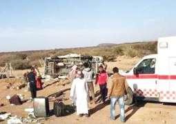 Minibus crash during pilgrimage in Saudi Arabia, 6 dead