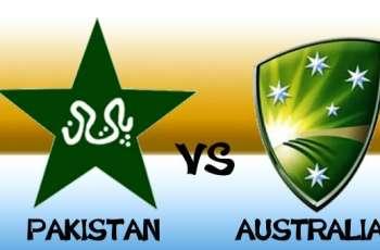 پاکستان و آسٹریلیا نا نیام اٹ مسٹ میکو و آخریکو ٹیسٹ (اینو) بناء کیک