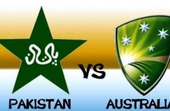 پاکستان و آسٹریلیا نا نیام اٹ اولیکو ون ڈے کرکٹ میچ (اینو) گوازی کننگک