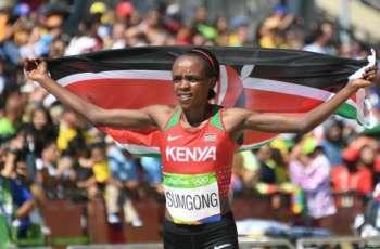 Athletics: Kenya's Sumgong to defend London Marathon title