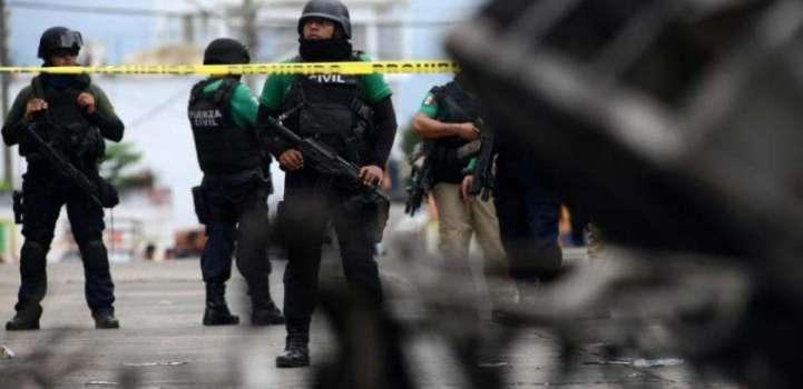 میکسیکو دی ریاست گوریرو اچ ٹرک توں 6 سر کٹیاں لاشاں برآمد