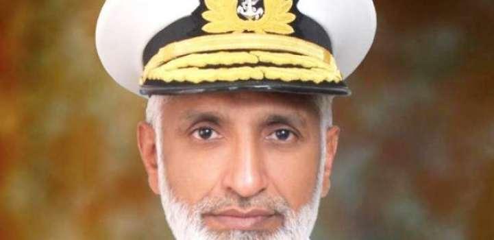 قائد القوات البحرية الباكستانية يلتقي مع القيادات العسكرية البحرينية