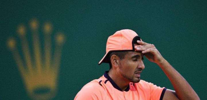 Tennis: Kyrgios booed off court in new 'tanking' row