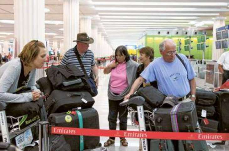 Dnata shows bag journey at Dubai Airport