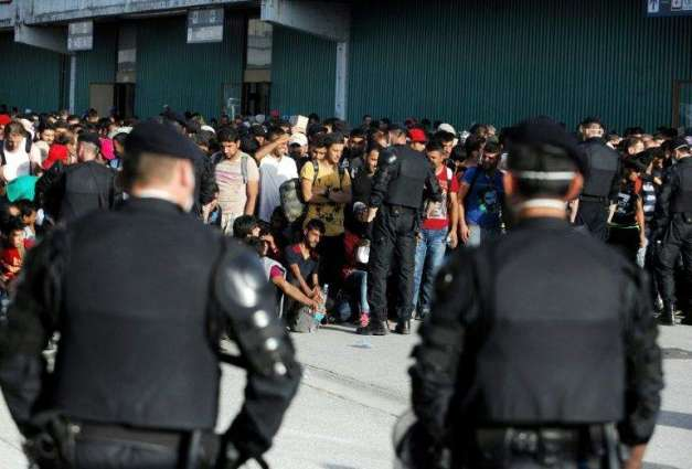 Migrants protest over reported attacks in Croatian capital