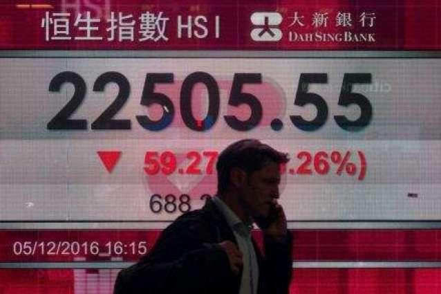 Hong Kong, Shanghai flat in first trade of year