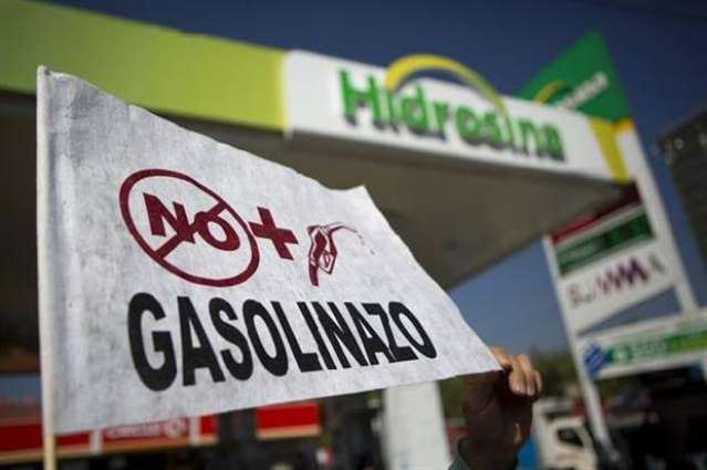 More protests in Mexico over gasoline price hike
