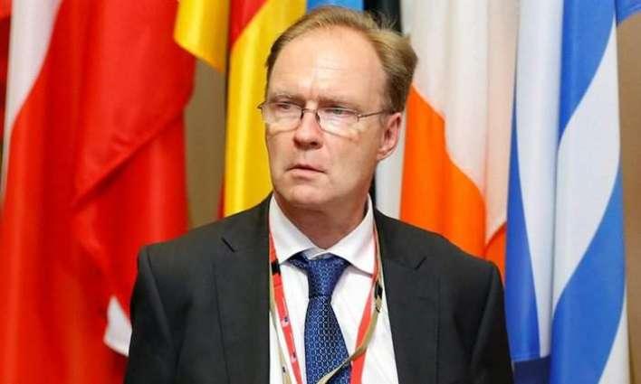 Britain's ambassador to EU quits: source