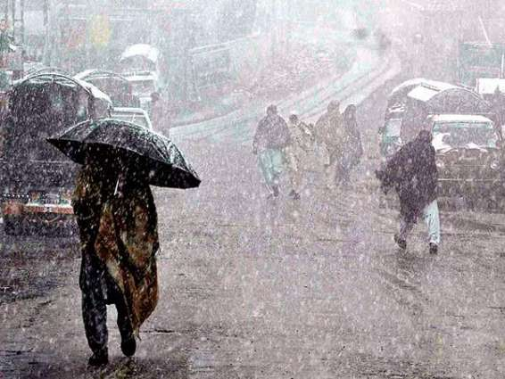 Early morning drizzle ends long dry spell