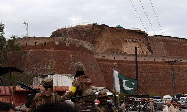 Corps Commander visits FC HQs in Balahisar Fort