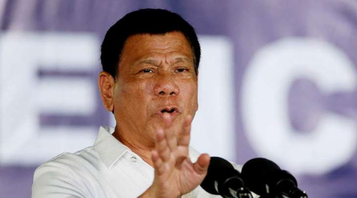 'They are all spies': Philippines' Duterte
