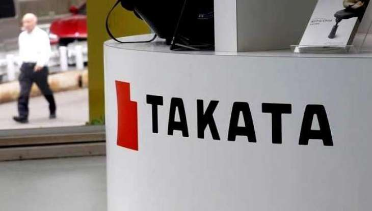 Takata shares end down following early surge