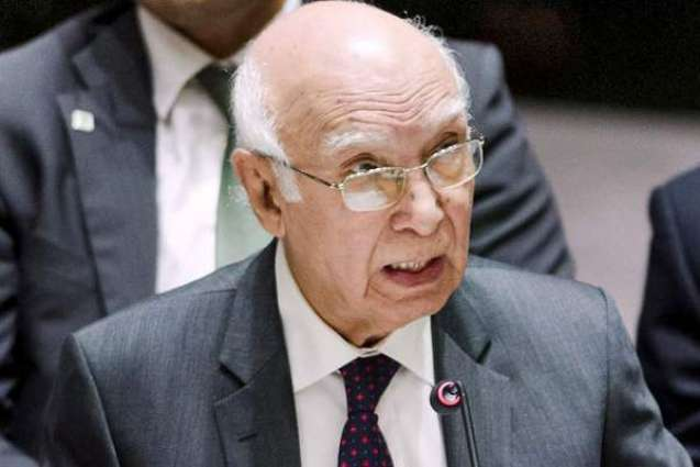 Sartaj calls upon world community to play role in holding plebiscite