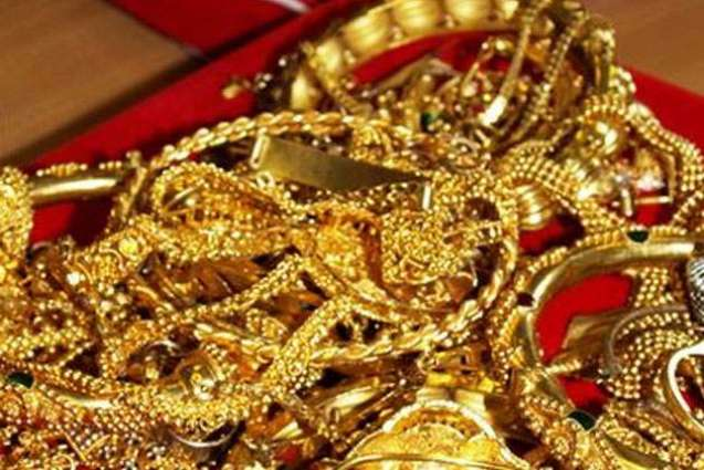 Gold ornaments looted