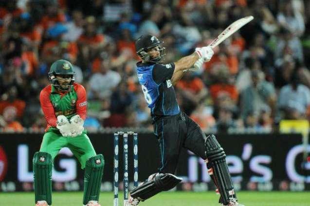 New Zealand v Bangladesh scoreboard