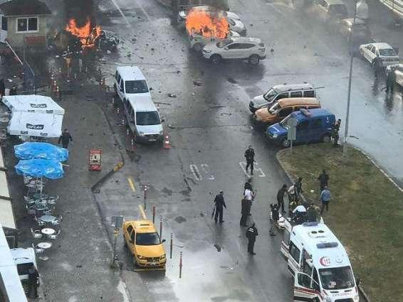Hero's farewell for slain Turkish policeman after Izmir bomb