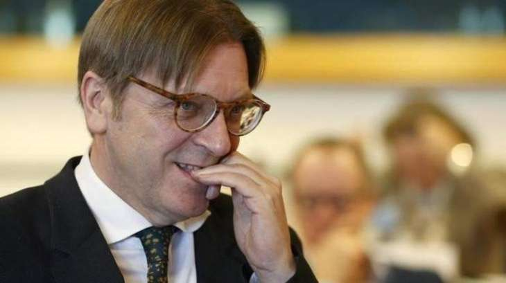 Brexit negotiator Verhofstadt running for EU parliament head