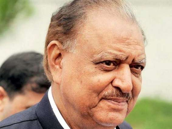 President Mamnoon due in AJK capital on January 12