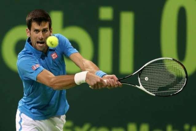 Tennis: Djokovic saves five match points to reach Qatar final
