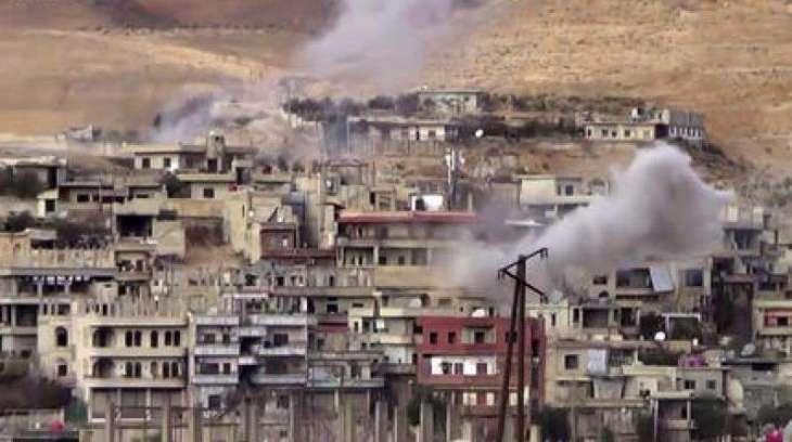 Clashes kill 9 near Damascus despite truce: monitor