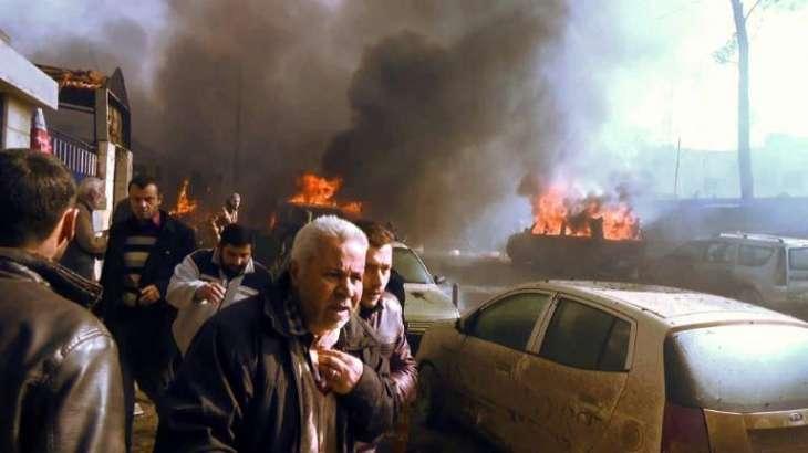 Massive tanker bomb kills 43 in Syria border town
