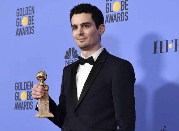 Chazelle wins best director Globe for 'La La Land'