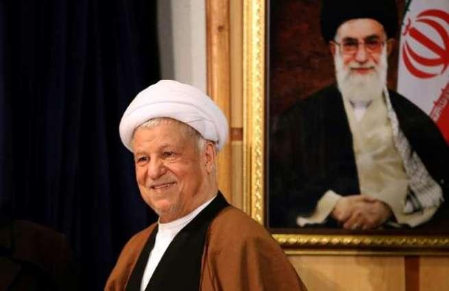 Iran mourns 'sheikh of moderation' Rafsanjani