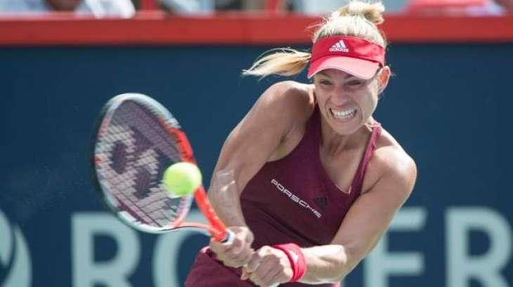 Tennis: Top-ranked Kerber stunned by Russian teen