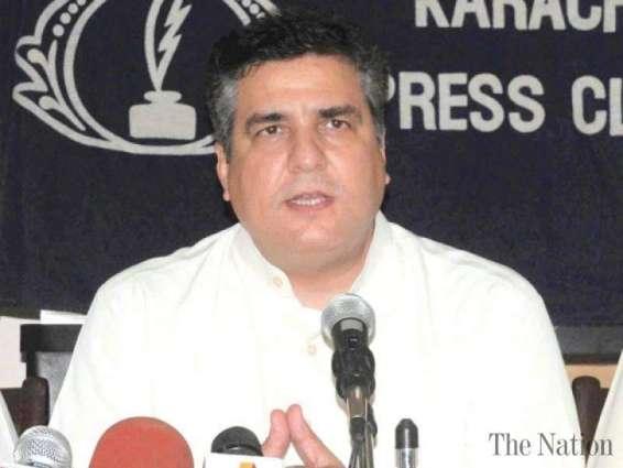 پاکستان مسلم لیگ (ن) دے رہنما تے رکن قومی اسمبلی دانیال عزیز دی میڈیا نال گالھ مہاڑ