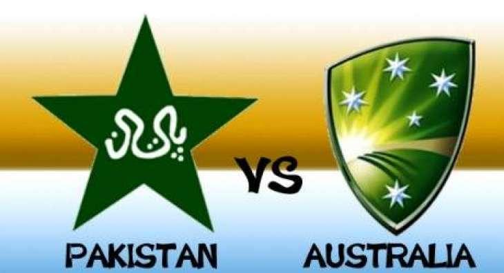پاکستان و آسٹریلیا نا نیام اٹ اولیکو ون ڈے کرکٹ میچ (جمعہ) غا گوازی کننگک