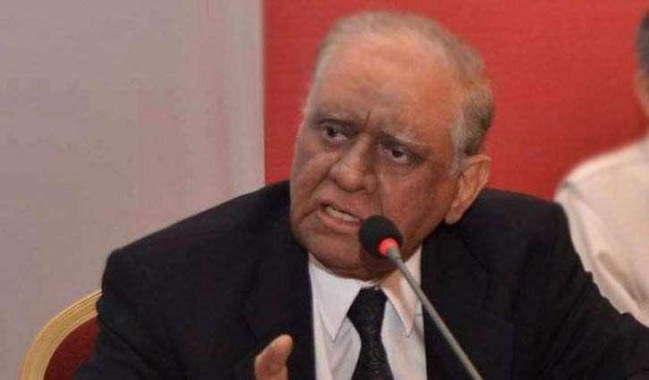 صدر مملکت ممنون حسین 'دا گورنر سندھ جسٹس (ر) سعید الزماں صدیقی دے انتقال تے ڈکھ تے افسوس