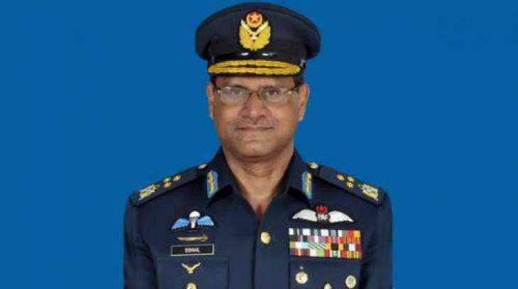 Air Chief expresses grief on Sindh Governor's demise