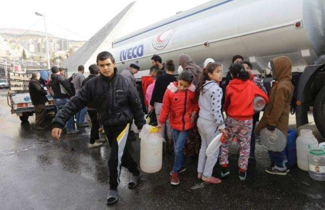 Army to enter area near Damascus, water to resume: governor