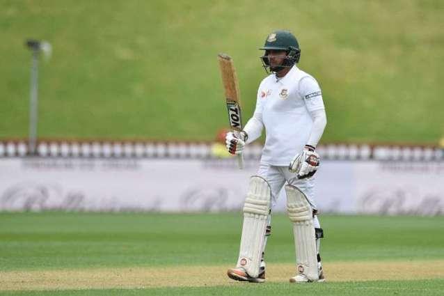 Cricket: Second rain stoppage with Bangladesh 119-2
