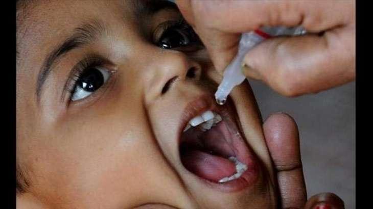 1.325 mln children given polio drops in Sagodha div last year