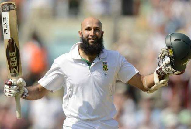 Amla hits century in 100th Test