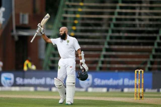 Cricket: Amla admits relief after century in 100th Test