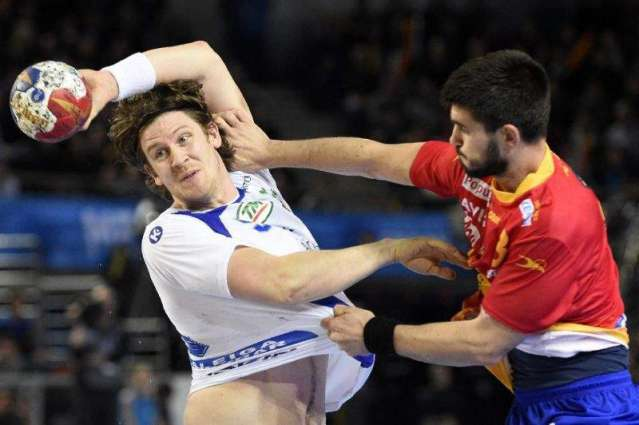 Spain toil to Iceland win in worlds start