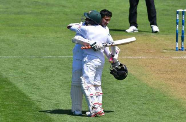 Cricket: Shakib's double ton leads Bangladesh to 542-7