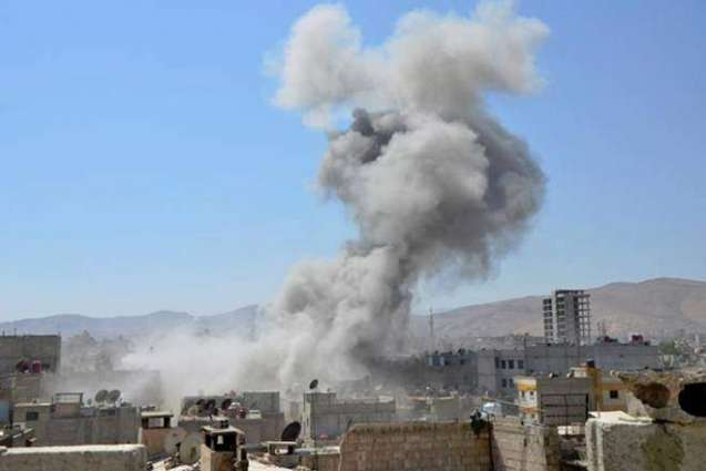 Explosions hit Damascus military airport: Syria state TV