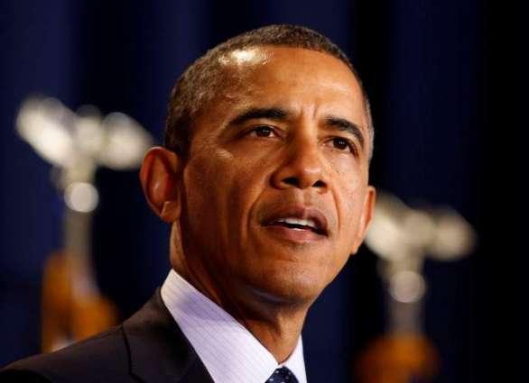 Obama admits Trump transition 'unusual'