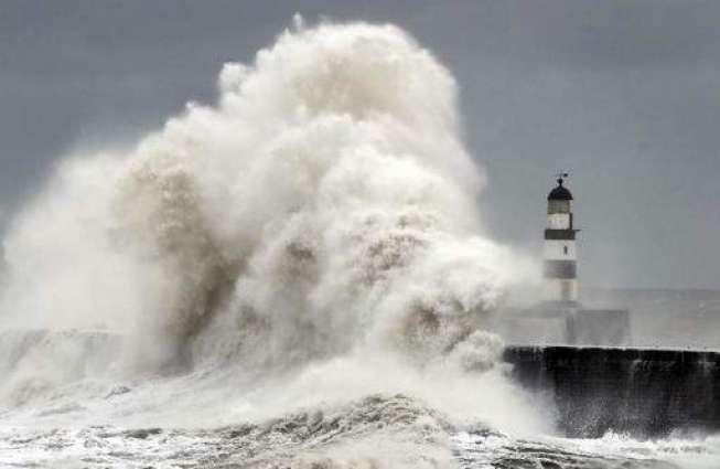 Winter storm batters Europe