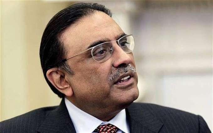 Ex-ministers call on Asif Zardari