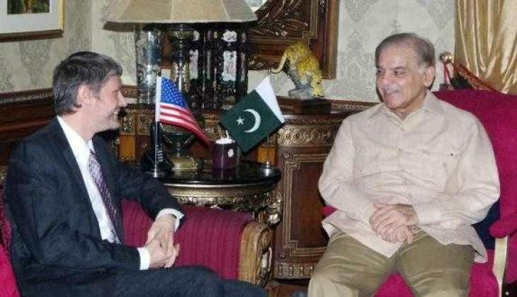 Shehbaz, Fedkiw discuss Pak-US relations