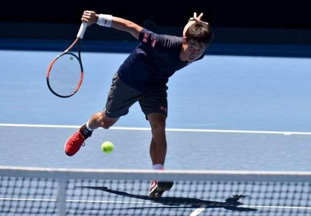 Tennis: Nishikori survives five-set dogfight to advance