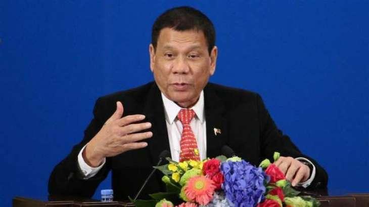 فلپائنی صدر دی ملک وچ مارشل لاءلان دی دھمکی