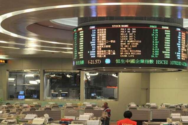 Hong Kong stocks rally by break