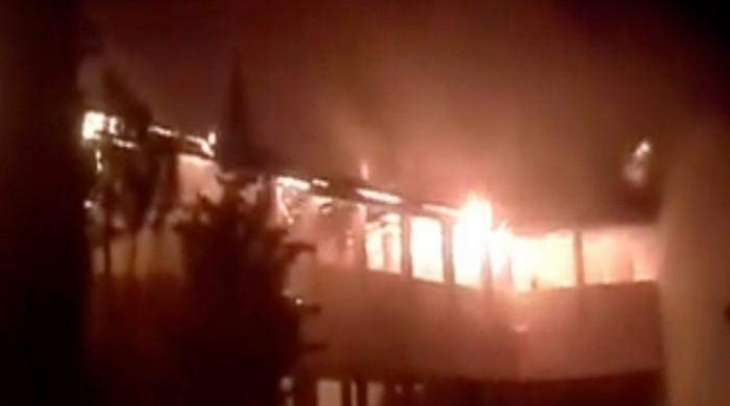 Fire erupts at Government College Wana