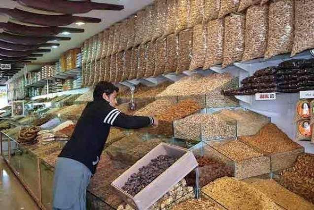Prices of dry fruit at its peak